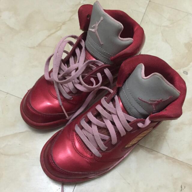 Jordan Valentine Rubber Shoes