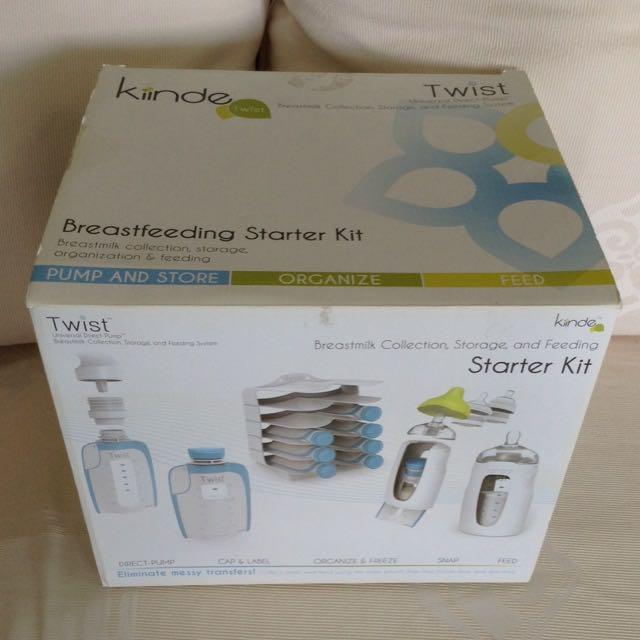 Kindle Twist Breastfeeding Starter Kit
