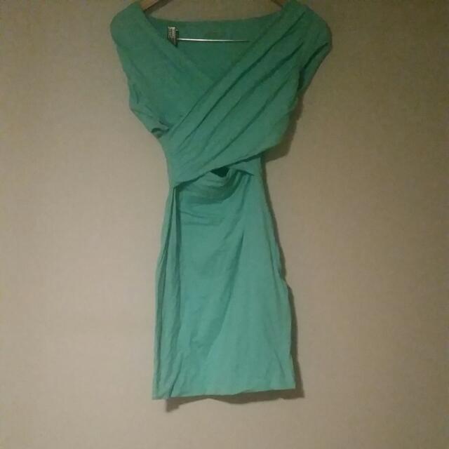 Kookai Mint Bodycon Dress Size1
