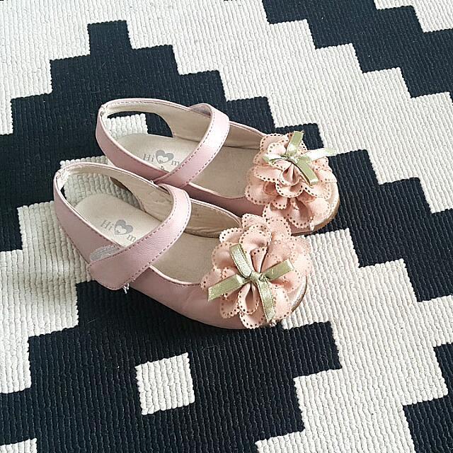 Korean Hi Mom Pink Cute Shoes