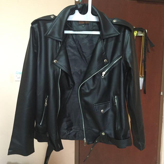 Leather jacket // jaket kulit