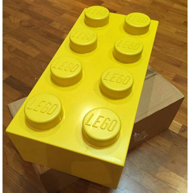 Lego Yellow Big 2 x 4 Brick