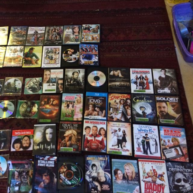 Lots Of Movies On DVD