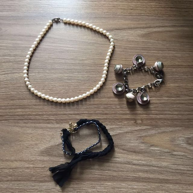 Necklace, Bracelet Set