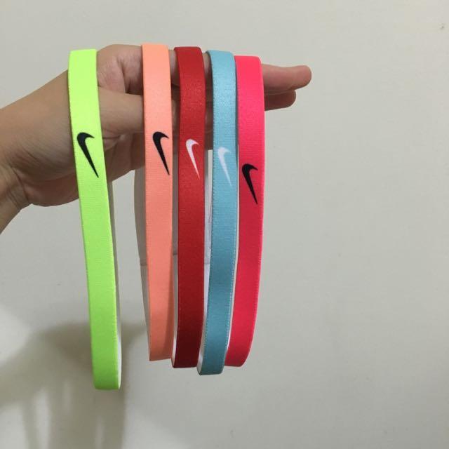 Nike 髮帶 慢跑