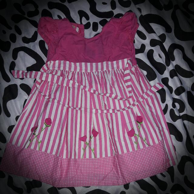 Pre loved Pink Dress for Baby