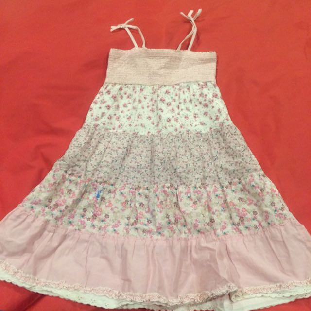 Spaghetti  Strap Dress (4-5y) H&M