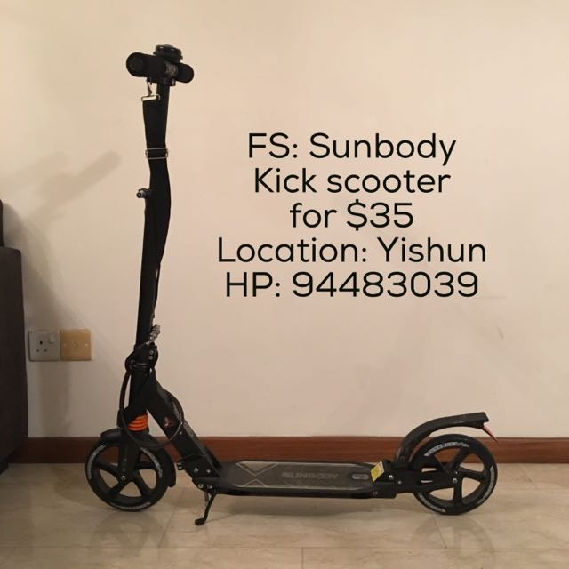 Sunbody Kickscooter