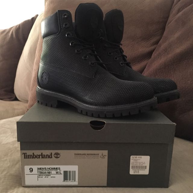 Timberlands (black, TBOA1181)