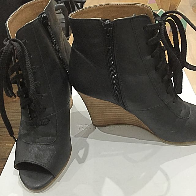 Tony Bianco Open toe Ankle Boots