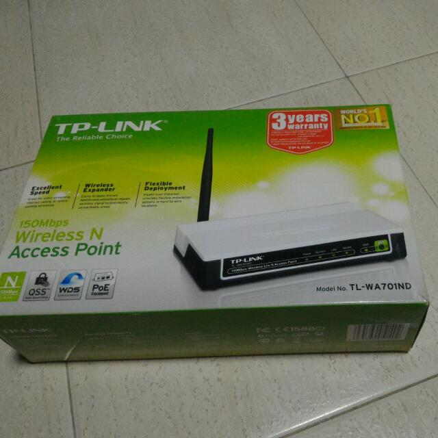 TP-Link TL-WA701ND 150MBps Wireless N Access Point, So Cheap