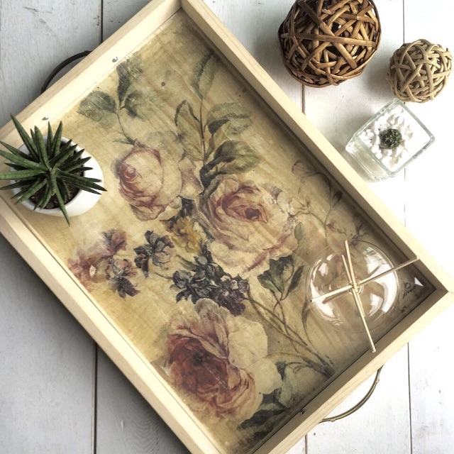 Vintage Decorative Accessory Tray