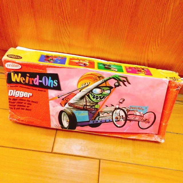 美式老玩具模型WEIRD-OHS