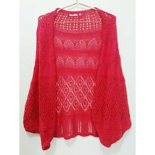 COLORBOX PINK KNIT OUTER