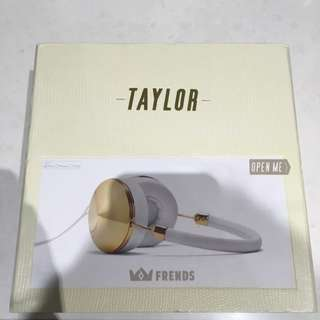 Taylor Headphones - Gold