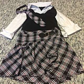 School Girl Outfit