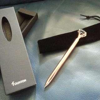 時尚水鑽筆