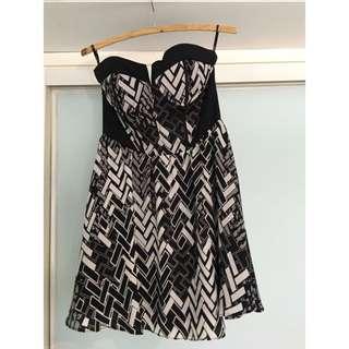 Bardot Party Dress