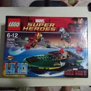 BNIB Original Lego 76006 Iron Man Set