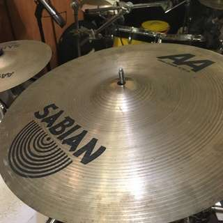 "Sabian AA 16"" Thin Crash Cymbal"