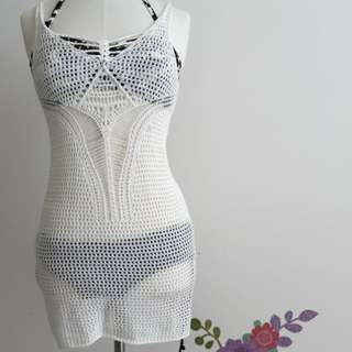 Crocheted Cover-up