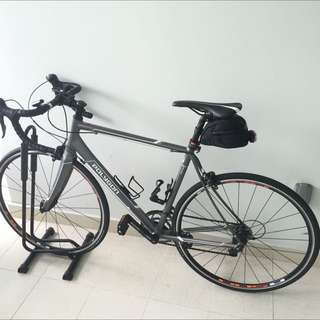 (Reserved) Polygon Helios Road Bike - Hardly Used