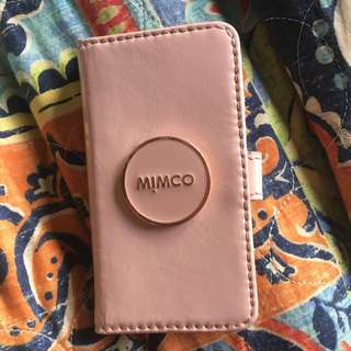 iPhone 5/5s Mimco Case Pink