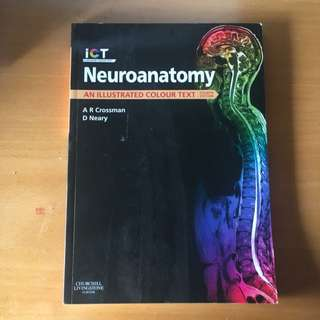 Neuro anatomy Illustrate Coloured Textbook