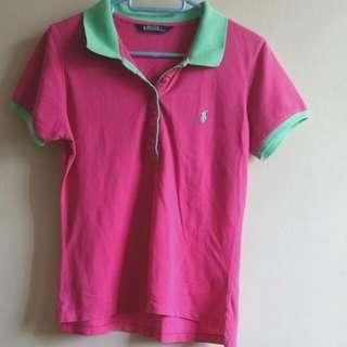 Polo Green Collared T-shirt