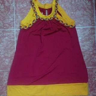 Redhead dress