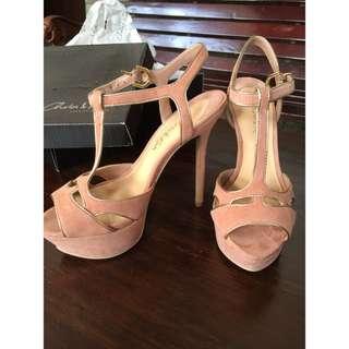 Charles & Keith Dusty Pink Heels
