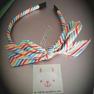 Stylish Stripped Design Hairband
