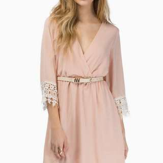 Tobi Peach Pinkish Dress