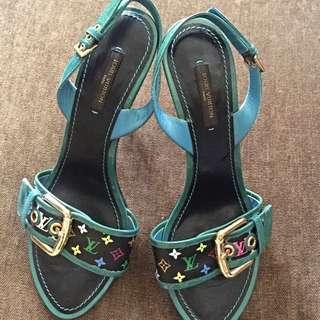 Authentic Louie Vuitton Multicolor Shoes