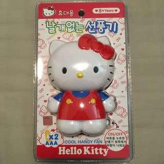 限時💯韓國正版•Holle Kitty電風扇
