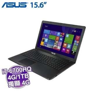 AUSU i7效能版筆電 X550VX 0093