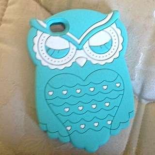 Blue Owl iPhone 4 Case