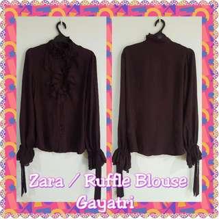 Zara - Ruffle Blouse