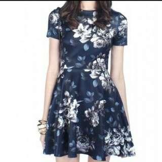Navy Blue Fayth Stila Dress