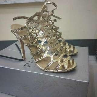 nadine lustre gold criss cross sandals