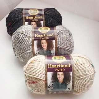 Lion Brand Heartland TWEEDS