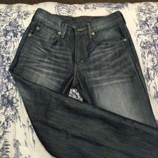 Levi's Faded Blue Jeans