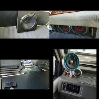 Car Audio System Installation
