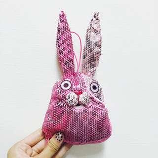 監獄兔 日本帶回 基廉列克 普亭 人妖雞 玩偶 娃娃 兔 零錢包 錢包 萬用包