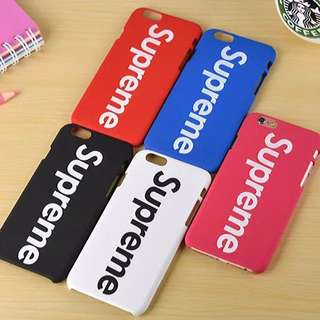 Free Ship Supreme iPhone Case