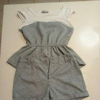 Cherrydress Shirt And Short Outfit Size Small