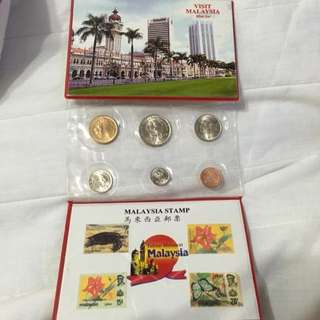 馬來西亞郵票錢幣紀念