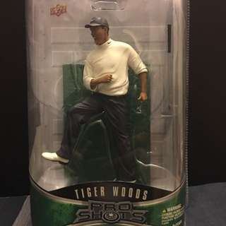 TIGER WOODS scale model
