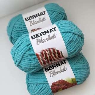 Bernat Blanket Yarn in Light Teal