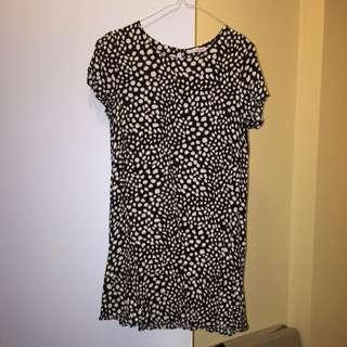 Spotty Tshirt Dress
